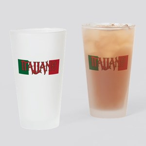 Italiano Drinking Glass